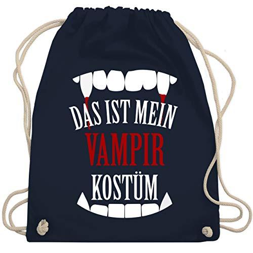 Halloween - Das ist mein Vampir Kostüm - Unisize - Navy Blau - WM110 - Turnbeutel & Gym Bag