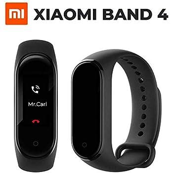Bainuojia Xiaomi Mi Band 4 Smart Pulsera Fitness Tracker, 0.95 OLED Pantalla Táctil a Color, Resistente al Agua 5 ATM, Bluetooth 5.0 con Pulsómetro ...