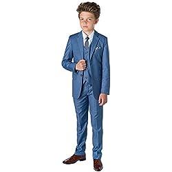 Paisley of London - Traje - para niño, azul (chambray), 8 años