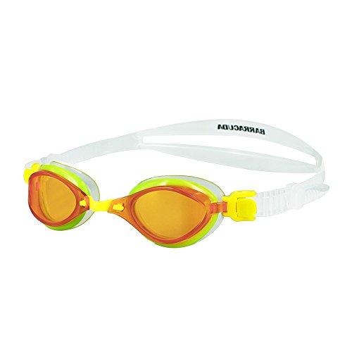 Barracuda FENIX JR– Schwimmbrille für Kinder 7-15, mit 100% UV-Schutz, Anti-Beschlag-Beschichtung, wasserdicht, aus hautverträglichem Kunststoff inklusive KOSTENLOSEM Etui #73855 (YELLOW)