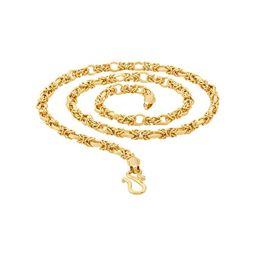 Voylla Gold Plated Chain for Men (8907617435039)