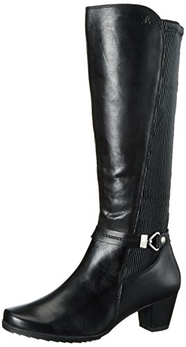 Caprice 25526 - Stivali Alti da Donna, Nero (Black Comb 19), 40
