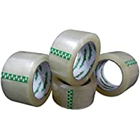 6 x cocineros Aqua Profesional de cinta adhesiva de banda extra fuerte paquete transparente 50 mm x 66 M 60my
