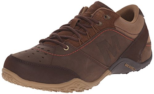 merrell-wraith-fire-mens-lace-up-running-shoes-dark-earth-10-uk