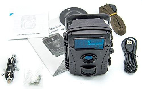 PROtastic Trap Trigger 720p Video / 12Mp Stills Cámara – IP Nominal – Ideal para la Vida Salvaje, Caza de Fantasmas paranormales, etc.