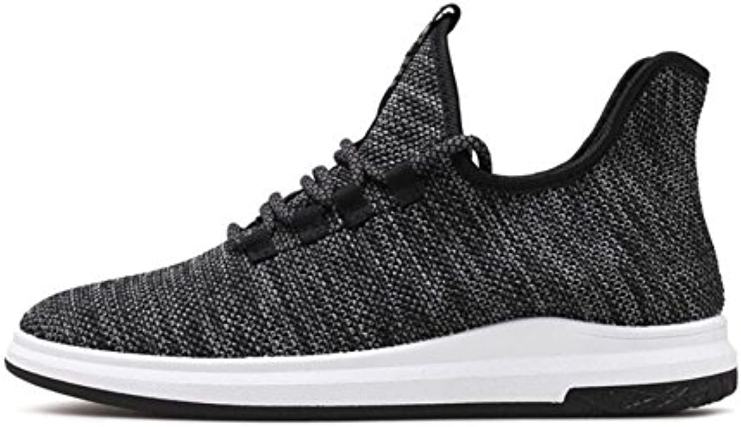 Moxicha Men's Running Zapatos Lightweight Outdoor Casual Athletic Knit Sports Sneakers, Soft Sole Lightweight?