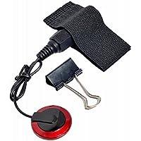 ROSENICE Pick-up microfono piezo contatto con nastro biadesivo per Guitar(nero)