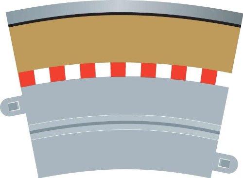 Scalextric - Bordo curvo per corsia singola esterna [Importato da Regno Unito]