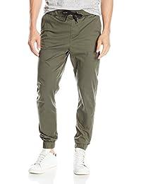 Devil Light Green Slim Fit Joggers Men'S Jogger Pants