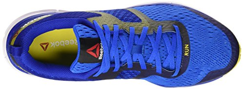 Reebok, Scarpe da corsa uomo Multicolor (BLUE SPORT / COLL ROYAL / YELLOW SPARK / WHITE)