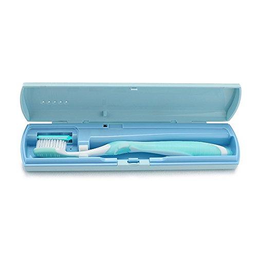 """SoniFox Zahnbürsten-Sterilisator für die Reise """"Oral Stericlean"""", sterilisiert und reinigt mit UV-Licht (Zahnbürste-sterilisator)"""