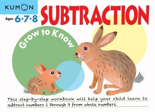 Subtraction (Grow to Know Workbooks)
