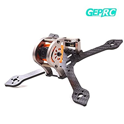 DroneAcc GEPRC Sparrow 139MM FPV Frame with RGB LED 3K Carbon Fiber Frame 3mm Thickness Support RUNCAM Swift Mini and Micro Swift lens for Racing Quadcopter Drone?GEP-MX3?