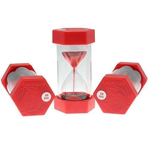 Grande Arena Temporizador - a elegir 12 time duraciones de 30 segundos a 60 minutos - Rojo