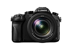 Panasonic DMC-FZ2000EG Lumix Superzoom Digitalkamera (20,1 MP, 20-fach opt. Zoom, 1 MOS-Sensor, 4K 30p Video 4:2:2 10 Bit, 7,5 cm (3 Zoll) LCD-Display, optische Bildstabilisierung, WiFi) schwarz