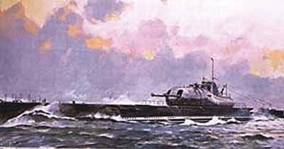Heller - 81014 - Maquette - Bateau - Sous-marin Surcouf - Echelle 1/400