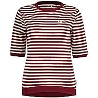 Maloja Madesism. Camisa, Mujer, Red Monk Stripe, M