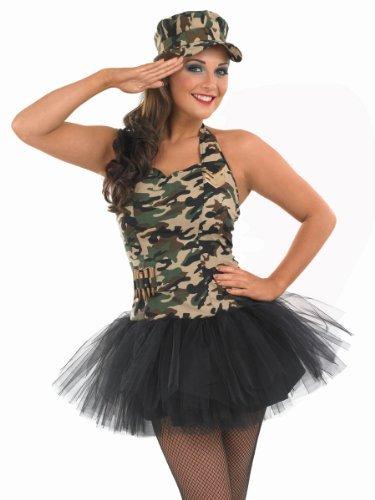 en - Adult Kostüm (Army Girl Kostüm)