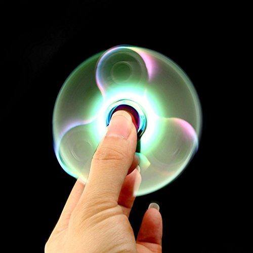 Fidget Spinner Ultra Durable Pure Cobre triángulo de juguete Reductor de estrés Anti Ansiedad para adultos y niños EDC embutidora de la media para niños/adultos - 2