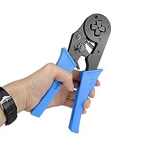 DADEQISH LXC8 16-4 12-6AWG 4-16 MM Mini selbsteinstellbare Kabel Aderendhülsen Crimpzange Werkzeuge Werkzeugzubehör