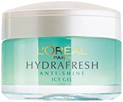 Loreal Paris Hydrafresh Anti-Shine Purifying & Matifying Icy Gel 50 ml (Made In Indonesia) With Free Ayur Sunscreen 50 ml