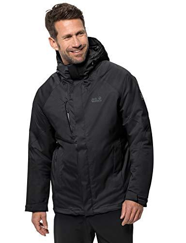 Jack Wolfskin Herren Troposphere Jacket M Wetterschutzjacke, black, L