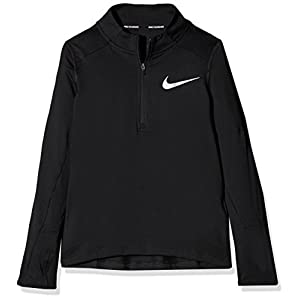 Nike Jungen Breathe Element Half Zip Langarm Oberteil