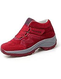 lovejin Zapatos de Senderismo Mujer Trekking Ocio al Aire Libre y Deporte Zapatillas Impermeable Trekking de