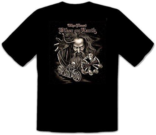 Choppers Tshirt The last biker on earth Fb schwarz Größe XL -