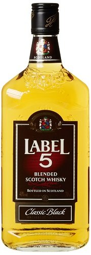 Label 5 Classic Black Blended Scotch Whisky (1 x 0.7 l)