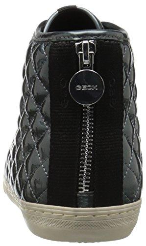 Geox D New Club A, Sneakers Hautes Femme Blau (LAKEC4069)