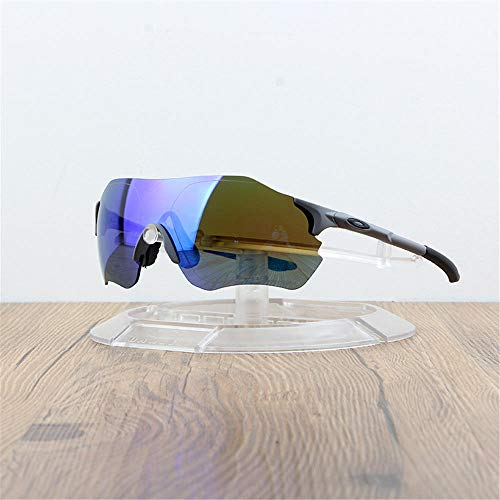 ANSKT Outdoor riding glasses running ultralight sunglasses polarized sports frameless with 3 interchangeable lenses men and women bicycle glasses UV400@1