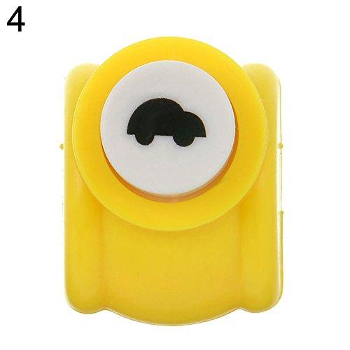 MAJGLGE Mini-Locher für Scrapbooks, handgefertigt, zum Ausstechen von Papier, Pinguin, 1 Stück Auto