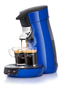 philips hd7825 75 senseo viva cafeti re dosettes bleu electrique cuisine maison. Black Bedroom Furniture Sets. Home Design Ideas
