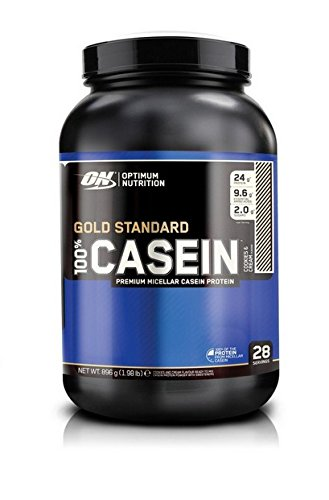 Optimum Nutrition 100 percentage Gold Standard Casein - Cookies and Cream, 1er...