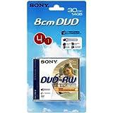 Sony DVD-RW 8cm 30 Min Pack de 4 plus 1 gratuit (Import Royaume Uni)