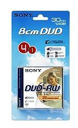 Sony 8cm Dvd-rw 30 Min - 4 Pack Plus One