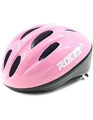 Roces Fitness Kid Helmet, color  - rosa y blanco, tamaño medium