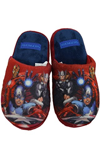 Mocassins Chaussons AVENGERS Marvel Rouge