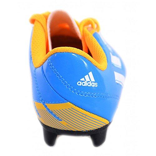 Adidas - Adidas Taqueiro FG J Scarpini Calcio Bambino Azzurri Pelle M17559 Azzurro