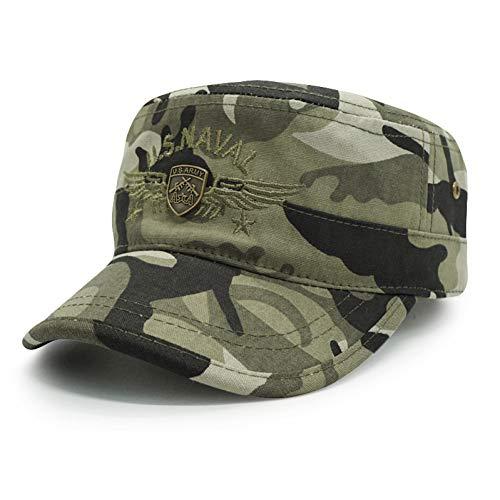 JKYJYJ Camouflage Baseball Cap Männer/Taktische Us Army/Marines/Navy/Cap Trucker Flache Kappen Männer Baseball Camo Cap Knochen Snapback Gorras (Us-marine-kappe)