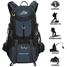 50L Mochila de senderismo Mochila al aire libre mochila de deporte al aire libre para escalada