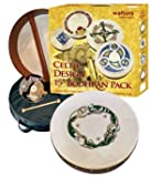 "WALTONS PACK 15"" CHASE Irish Bodhran - Gift Set"