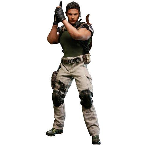 Preisvergleich Produktbild Chris Redfield - Resident Evil 5 / Bio Hazard 1:6 Scale Doll Figure Hot Toys