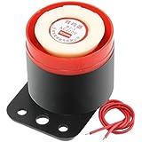 d'alarme - SODIAL(R) BJ - 1 90dB 220VAC Sirene electronique d'alarme sonore et Vibreur et Sonore