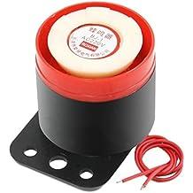Sirena - SODIAL(R)BJ - 1 90dB 220VAC Sirena electronica alarma acustica y vibracion y ruido