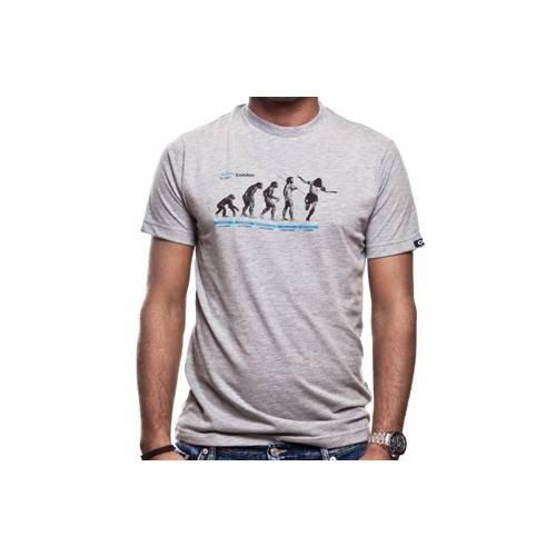 COPA Football - Human Evolution T-shirt - Grau