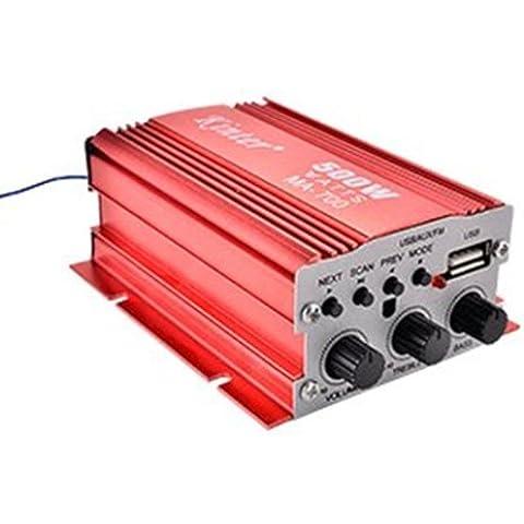 ch 2 digital de audio del amplificador de potencia de coches en barco en el hogar de alta fidelidad estéreo mp3 ma-700