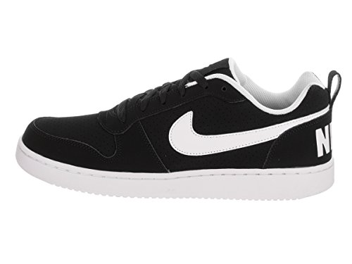 Nike Court Borough Low, Scarpe da Basket Uomo Bianco-Nero