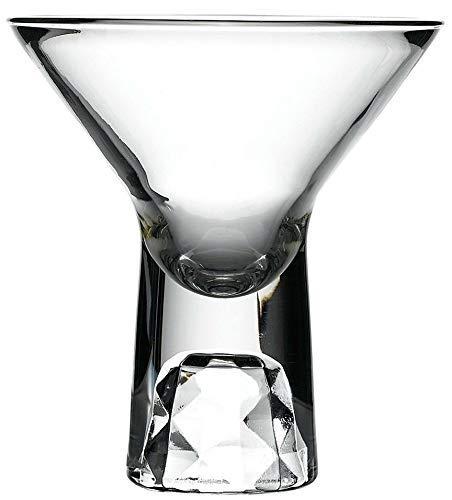 Libbey Shorty Martiniglas, doppelseitig, 140 ml, Stiel, 6 Stück Libbey Mini
